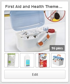 First Aid and Health Themed Baby Shower Gift Basket Pinterest Board  || thelittledabbler.com