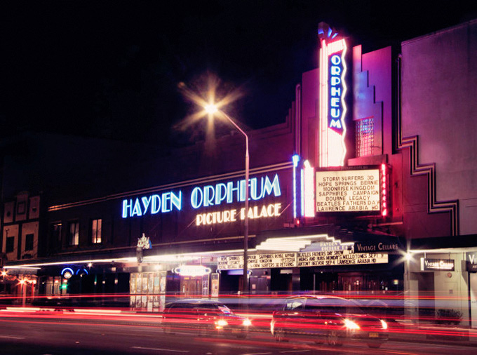 The Hayden Orpheum Picture Palace