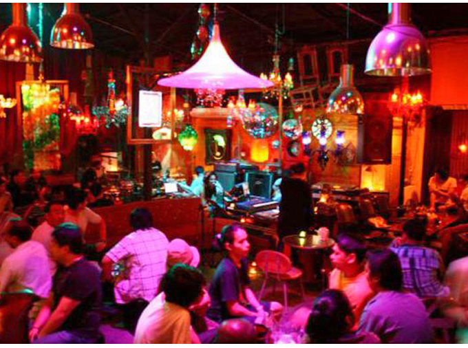 The music scene in Thailand