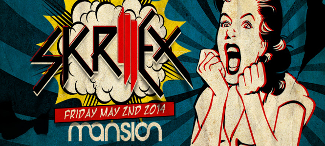 Skrillex at Mansion Nightclub Miami May 2nd header