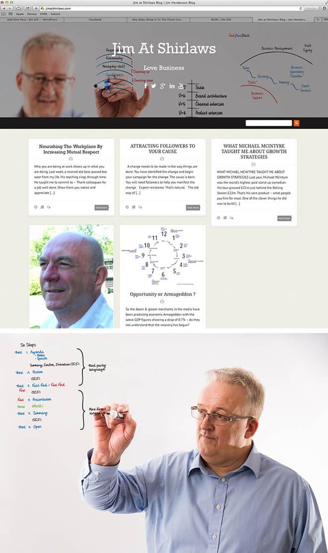 Jim at Shirlaws Blog b