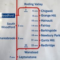 Walking the Central Line Loop - Leytonstone to Woodford via Hainault (and back)