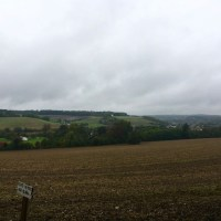 Rural edgeland wander in the rain