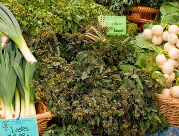 Kale Raab Northwest Fresh: Portland Farmers Market Spring 2009