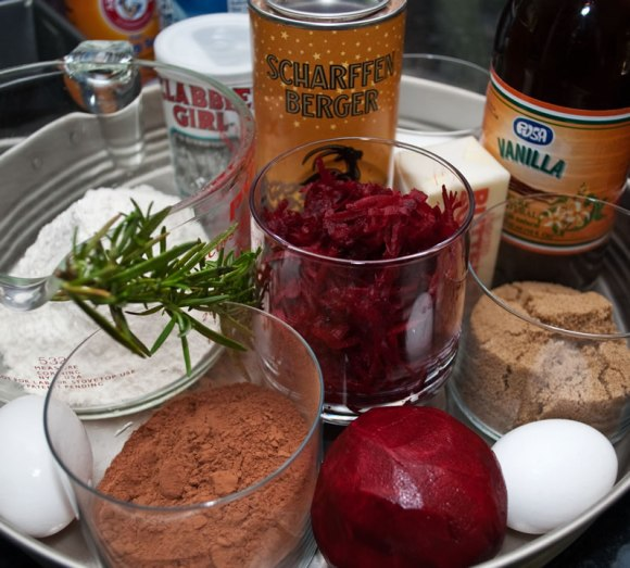 Ingredients Heavenly Chocolate Beet Tea Loaf