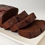 Sliced Heavenly Chocolate Beet Tea Loaf