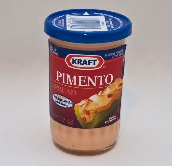 Kraft cheese Fire Roasted Red Pepper Cheese (Pimento Cheese)