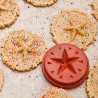 Moon over Tunisia (Baharat) Butter Cookies