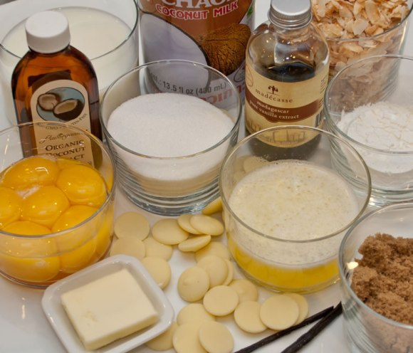 Ingredients Rosalyn's Toasted Coconut White Chocolate Dream Pie