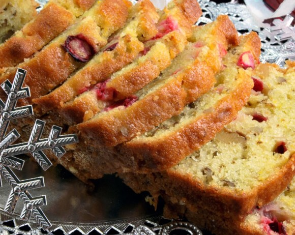 Cranberry Orange Yogurt Bread Holiday Gifts from the LunaCafe Kitchen