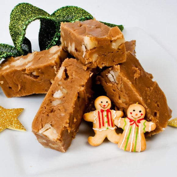 Dreamy Creamy Gingerbread Fudge Holiday Gifts from the LunaCafe Kitchen