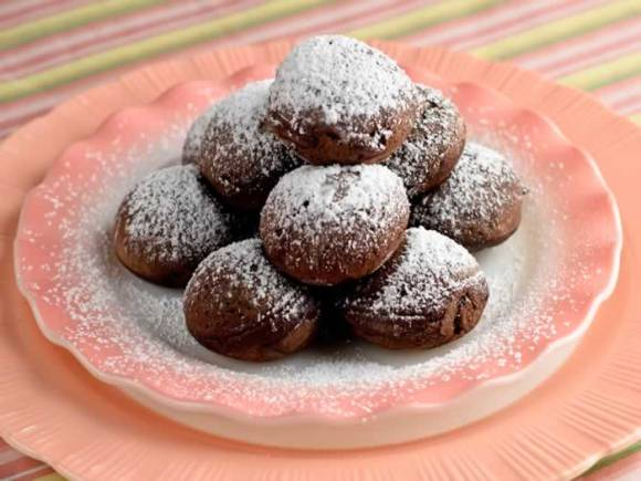 Mexicano Chocolate Ebelskivers Mexicano Chocolate Ebelskivers (Aebleskivers)
