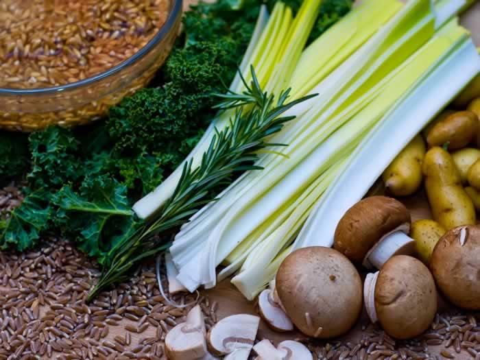 Farro Risotto (Farratto) Ingredients
