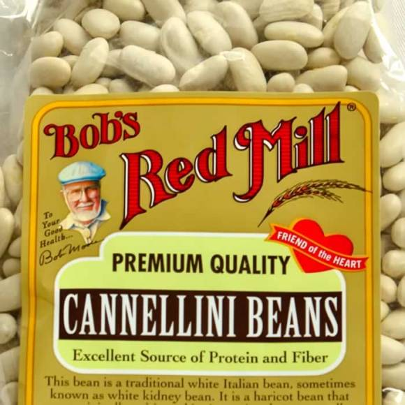 Bobs Red Mill Cannellini Beans Cannellini Bean Soup with Italian Sausage, Fingerling Potatoes & Broccoli Raab