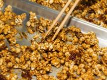 Chinese Cracker Jacks Hot From the Oven