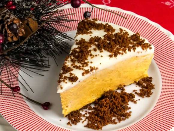 Pumpkin cheesecake serving 2 Dreamy, Creamy, No Bake Pumpkin Butter Cheesecake
