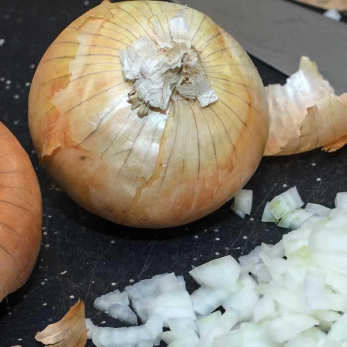 Vichyssoise Onion Prep