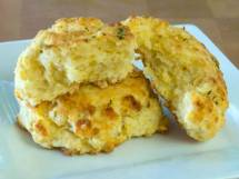 Cheddar Bay Biscuits Closeup