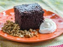 Chocolate Cake Serving