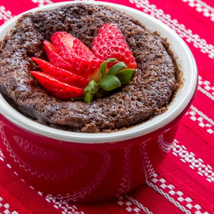 Mexicano Chocolate Pudding Cake (Hot, Easy & Good)