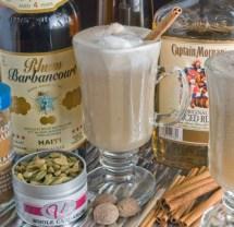 LunaCafe Hot Buttered Rum