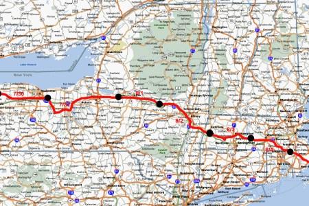 image gallery highway map eastern us
