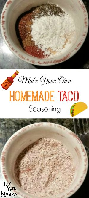 Making your own Homemade Taco Seasoning is quick, easy and actual ...