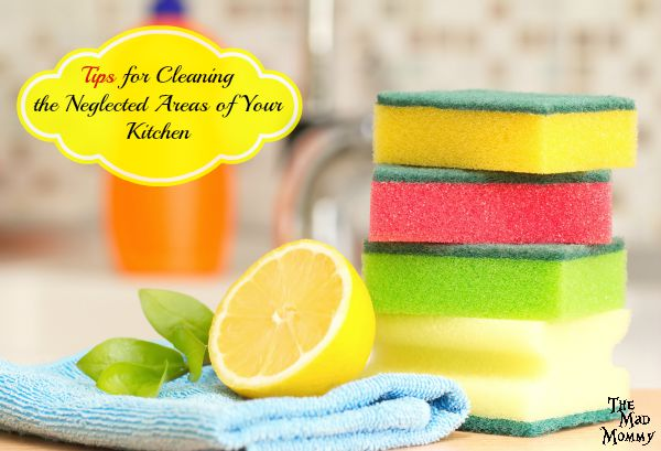Here are some great Tips For Cleaning The Neglected Areas Of Your Kitchen.