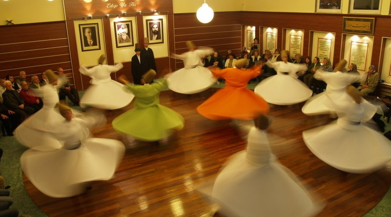 Female whirling dervishes