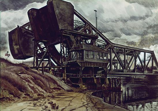 Big Coal, Charles Burchfield