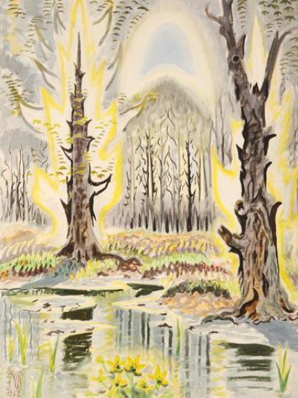 Glory of Spring, Charles Burchfield