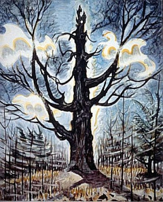 Tree, Charles Burchfield, 1916