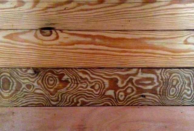Floor, Detail of Wood Grain