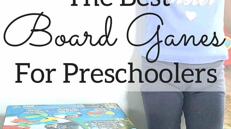 The Best Board Games For Preschoolers