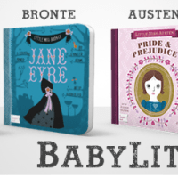 Jane Eyre & Alice in Wonderland for Toddlers with BabyLit books from Gibbs Smith