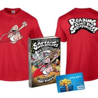 Captain Underpants and the Sensational Saga of Sir Stinks-a-Lot & a $50 Visa G.C. Giveaway
