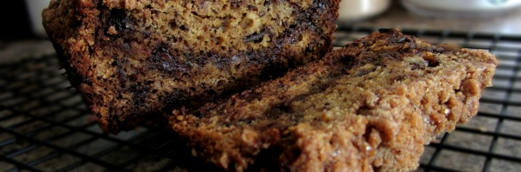 Cinnamon Swirl Chocolate Chip Banana Bread