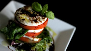 Caprese Salad with a Balsamic Reduction