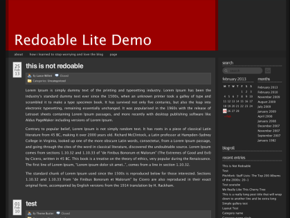 Redoable Lite WordPress Theme