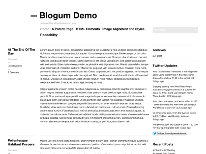 Blogum WordPress Theme