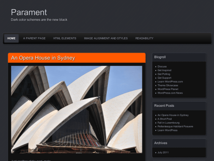 Parament WordPress Theme
