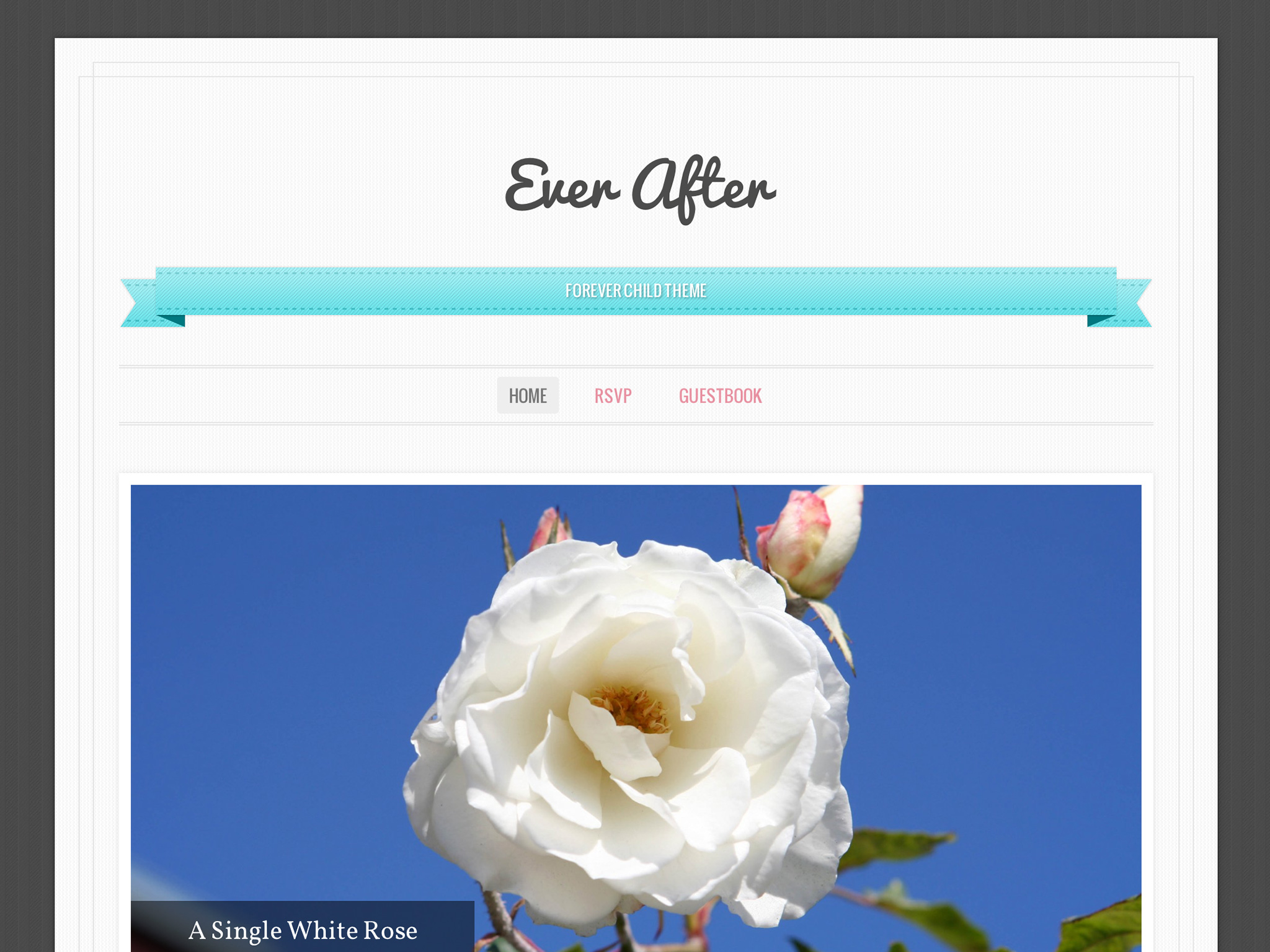 Ever After WordPress Theme