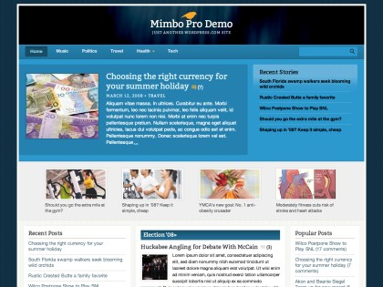 Mimbo Pro WordPress Theme