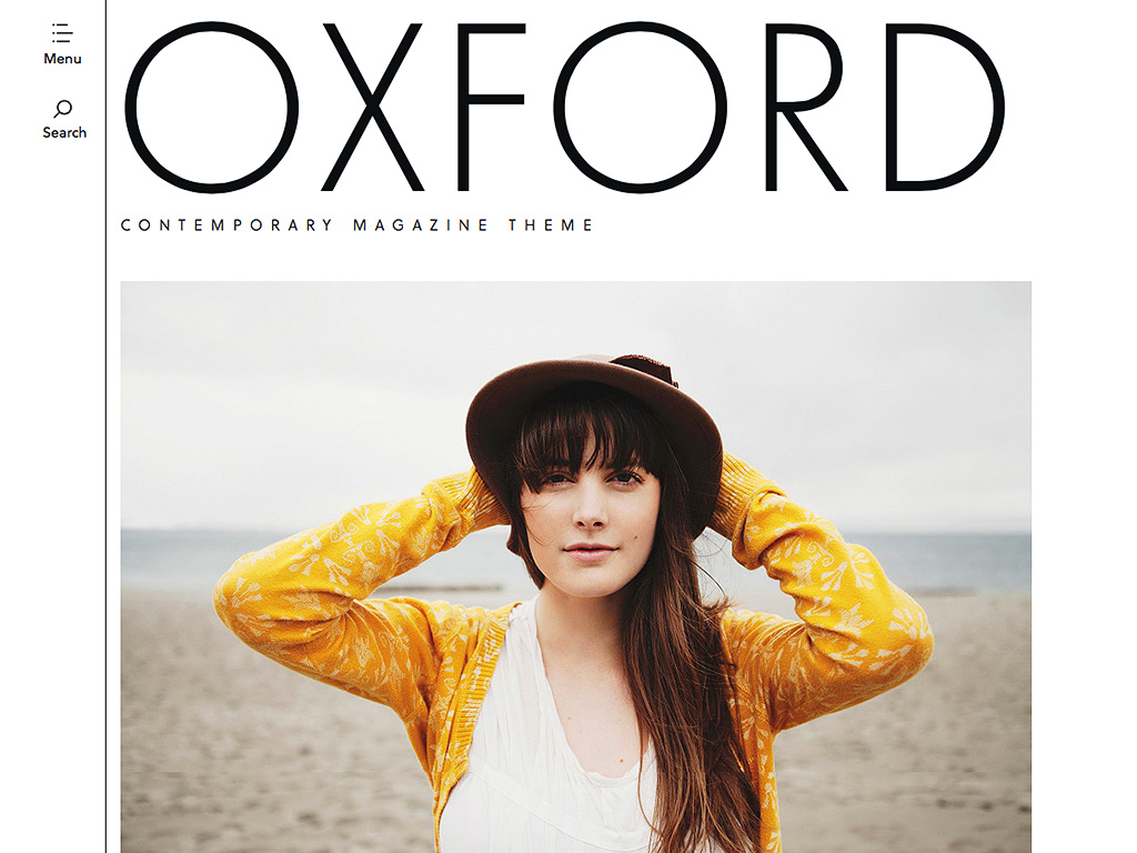 Oxford WordPress Theme