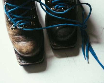 broken ski boots sparkfly photography