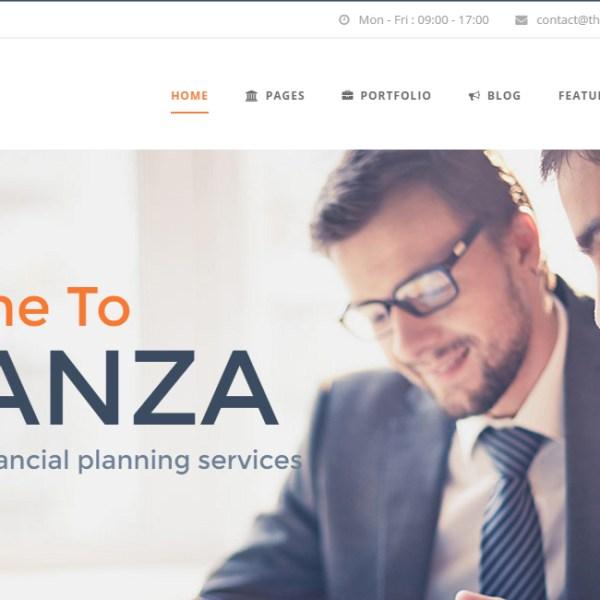 Finanza - Business & Financial WordPress Theme