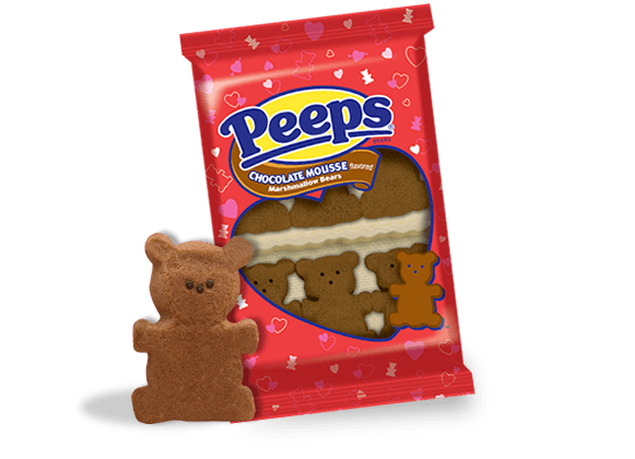 Chocolate Mousse Marshmallow Bears Peeps