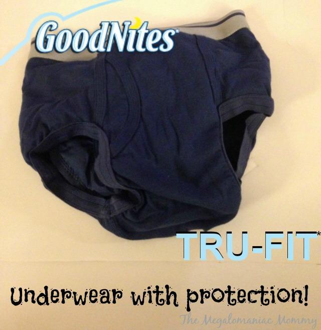 GoodNites TRU-FIT #TRUFITTARGET Unpackaged