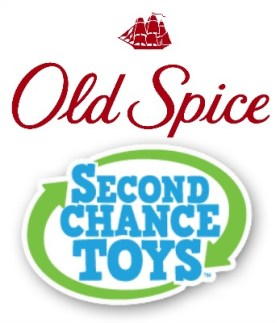 Old Spice Second Chance Toys #HoliSPRAY Toy Exchange #SmellcomeToManHood #OldSpice #sposnored
