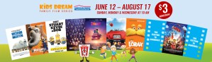 Marcus Theatres Summer Film Series: Mark Your Calenders